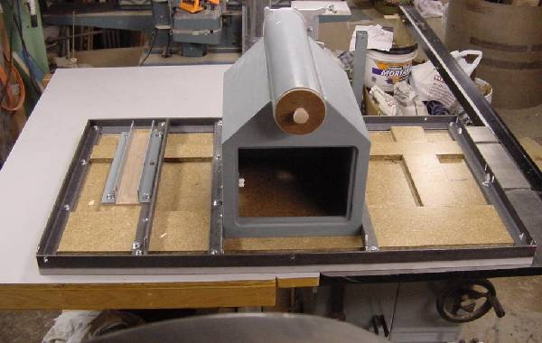 Unisaw Extension Table Router Lift
