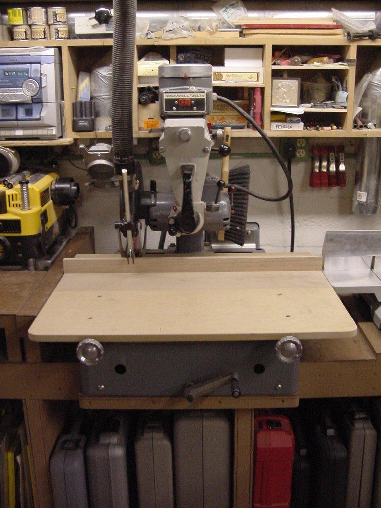 "Curt Blank's Woodworking Workshop - Rockwell/Delta 12"" RAS"