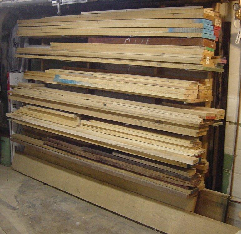 woodworking shop storage
